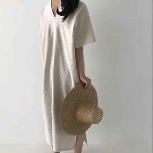 【新品】レディースワンピース ベージュ