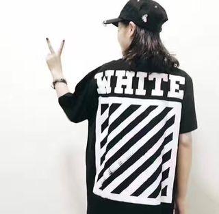 大人気 OFF WHITE 半袖Tシャツ男女兼用 お買得