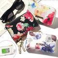 『花柄パスケース付きミニ財布 』レディース コインケース