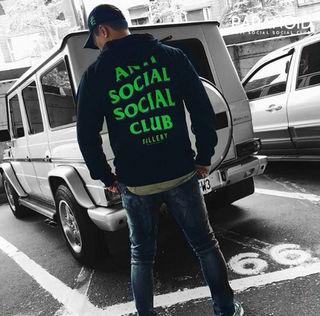 Antisocialsocialclub パーカー AT01