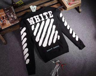 オフホワイト/Off-White 長袖 Tシャツ 秋冬