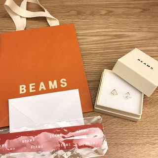 限定sale BEAMS トライアングルパールピアス