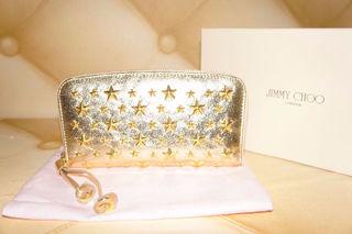 国内発送。新品Jimmy Choo長財布。