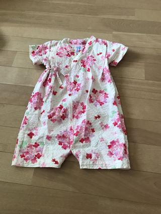 baby 浴衣  ロンパース