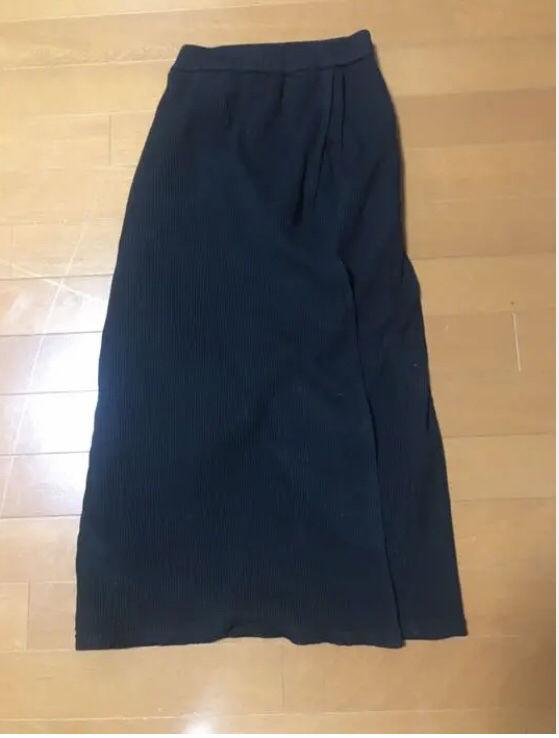 ニットロングスカート ¥2600で買いました(ノーブランド ) - フリマアプリ&サイトShoppies[ショッピーズ]