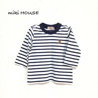 【miki HOUSE】ロンT