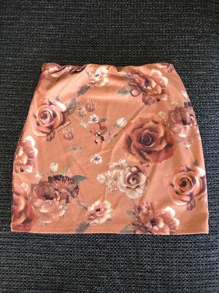 LIP SERVICE 花柄タイトミニスカート