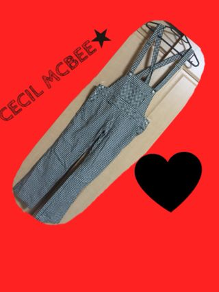 CECIL MCBEEサロペット