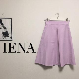 IENA キレイめ36フレアスカート