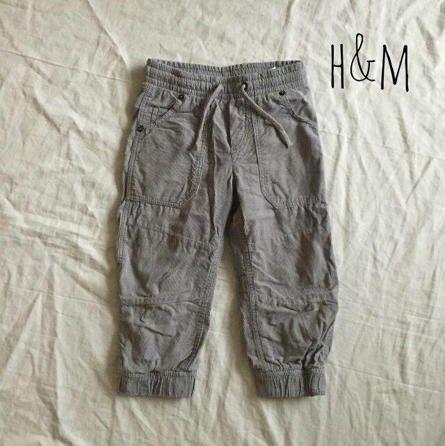 ベビーコーデュロイパンツ H&M