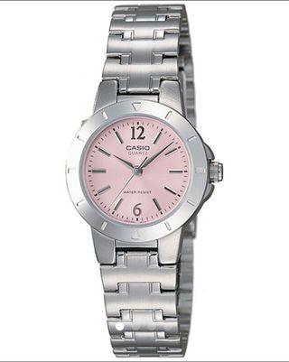 CASIO カシオ  腕時計 アナログ ピンク