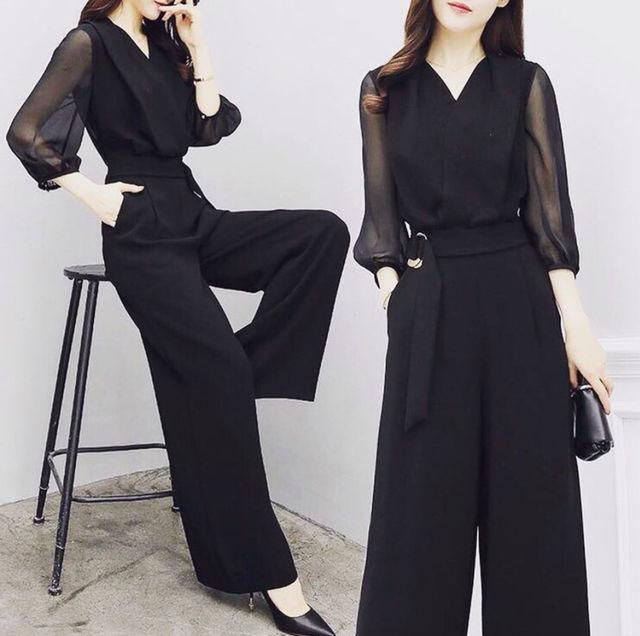 【新品】オールイン ワイド パンツ スーツ
