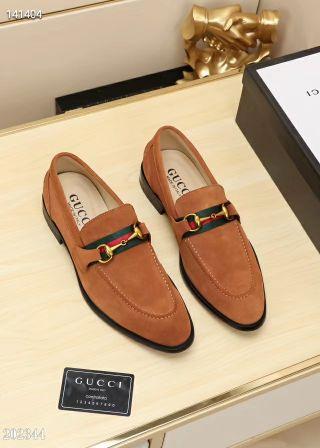 高質Gucci人気カップル革靴 紳士スニーカー