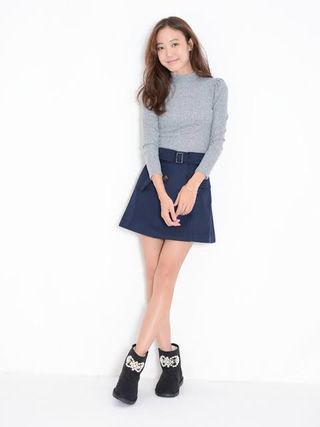 【新品】dazzlin トレンチライク スカート