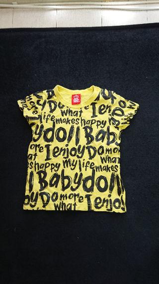 ベビードールTシャツ
