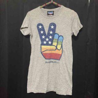 ジャンクフードピースTシャツ