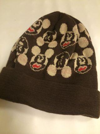 ミッキーのニット帽!