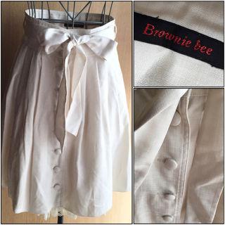 ブラウニービー購入スカート