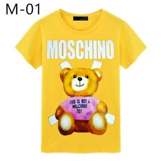 MOSCHINO Tシャツ/ 大人気/男女兼用/19