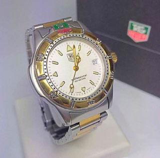 鑑定済み正規品 タグホイヤー プロフェショナル腕時計