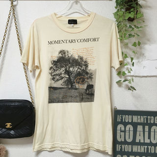 TK タケオキクチ men's 半袖 Tシャツ イエロー L