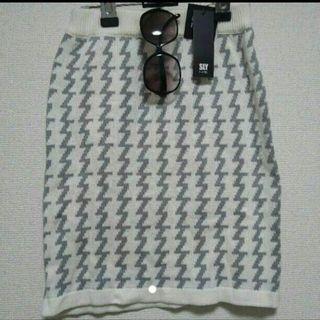 新品タグ付きSLYLANG  ニットスカート