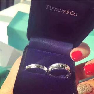 国内発送 Tiffanyティファニー 可愛い指輪リング 3色