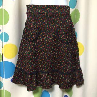 処分価格ヴィンテージ花柄スカート