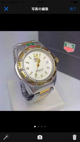 鑑定済み正規品タグホイヤー腕時計
