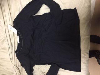 chocol raffne robeの黒Tシャツ