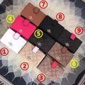 人気美品 2つ折短財布 可愛い美品 色可選