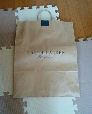RALPH LAUREN紙袋