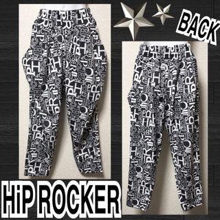 【新品/HiP ROCKER】総ロゴ柄サルエルパンツ