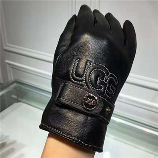 アグレディース冬暖かいレザー手袋