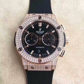 HUBLOT自動巻きの腕時計