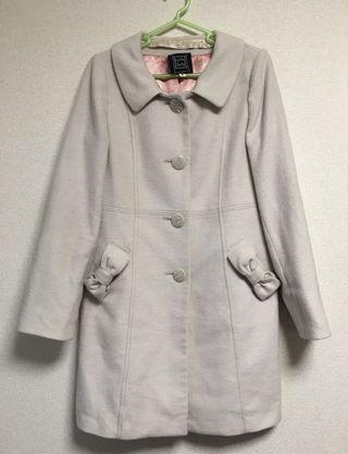 シンシアローリー リボンポケットコート