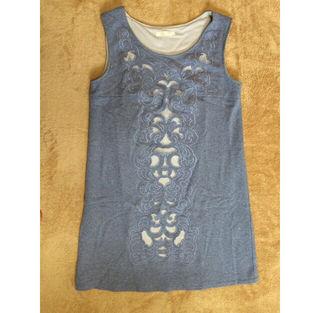 lilidia 刺繍ワンピース