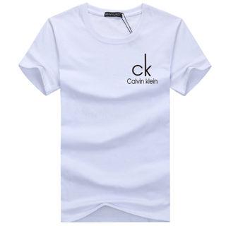 大人気!CKシンプルロゴ半そでTシャツ