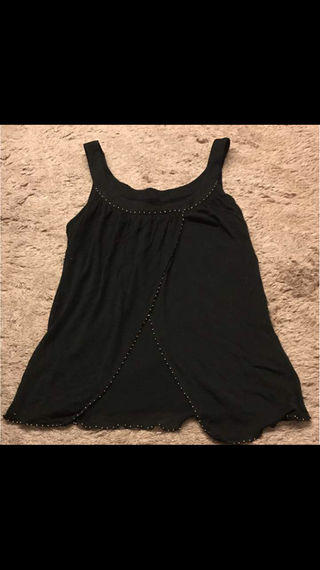 PROPORTION BODY DRESSING黒キャミ