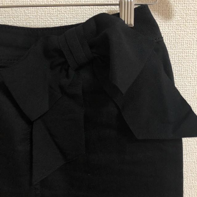 EPOCA ウエストリボンタイトスカート