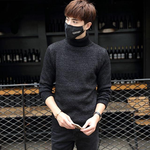 新品メンズセーター スリム カジュアル おしゃれ D31-1