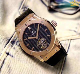 【早い者勝ち】HUBLOT 人気腕時計 自動巻き 2色あり