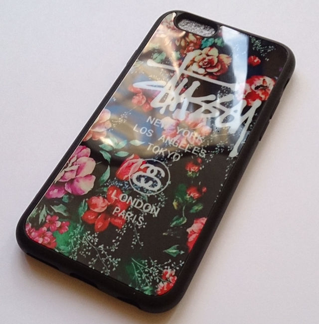 8292d79d7a ... フリマアプリ&サイトShoppies[ショッピーズ]; STUSSY iPhone7ケース 鏡面花柄レッド ...