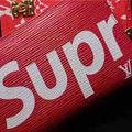 LVsupreme メンズ 長財布 大人気新品