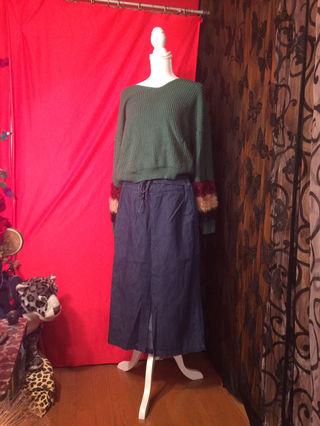 5.GORGEニット&GORGEジーンズスカート