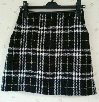 ロペピクニックツイードスカート