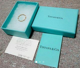 TIFFANY 指輪
