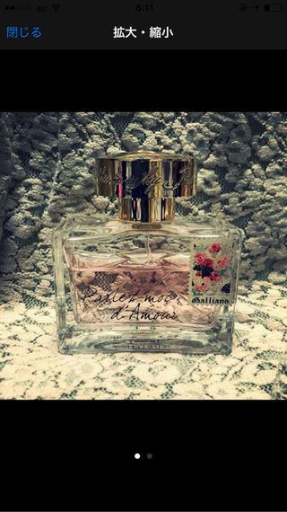 ジョンガリアーノ 香水