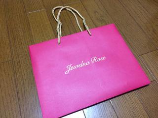 Jewelna Rose ショ袋