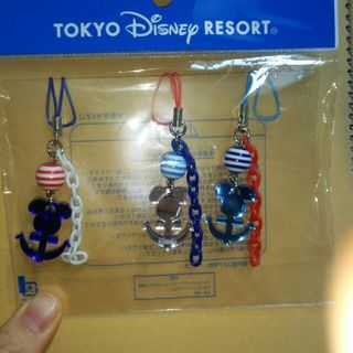 東京ディズニーリゾート限定夏のミッキーシェイプストラップ